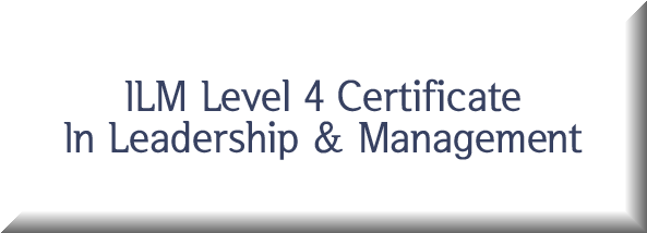 ILM Level 4 Certificate In Leadership & Management Button
